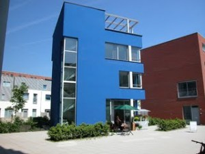 Casa Azul é um catalizar de transformações em comunidade planejada de Amsterdã