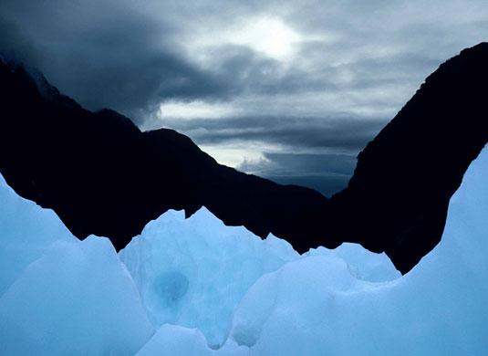 As geleiras foram a paisagem fotografada por Carlotta Maitland Smith, da Inglaterra.