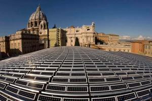 A climatização a energia solar deve evitar a emissão de 80 toneladas de dióxido de carbono e diminuir o consumo de petróleo do Vaticano